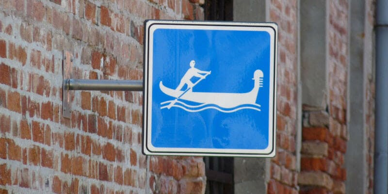Gondola sign