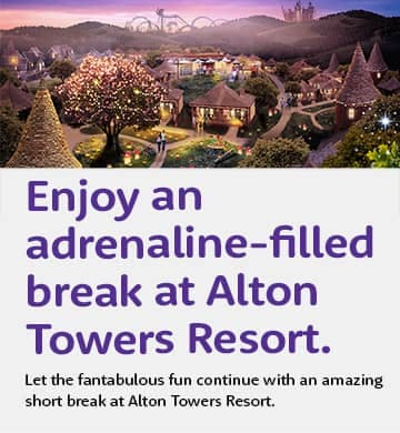 Alton Towers with Hotel