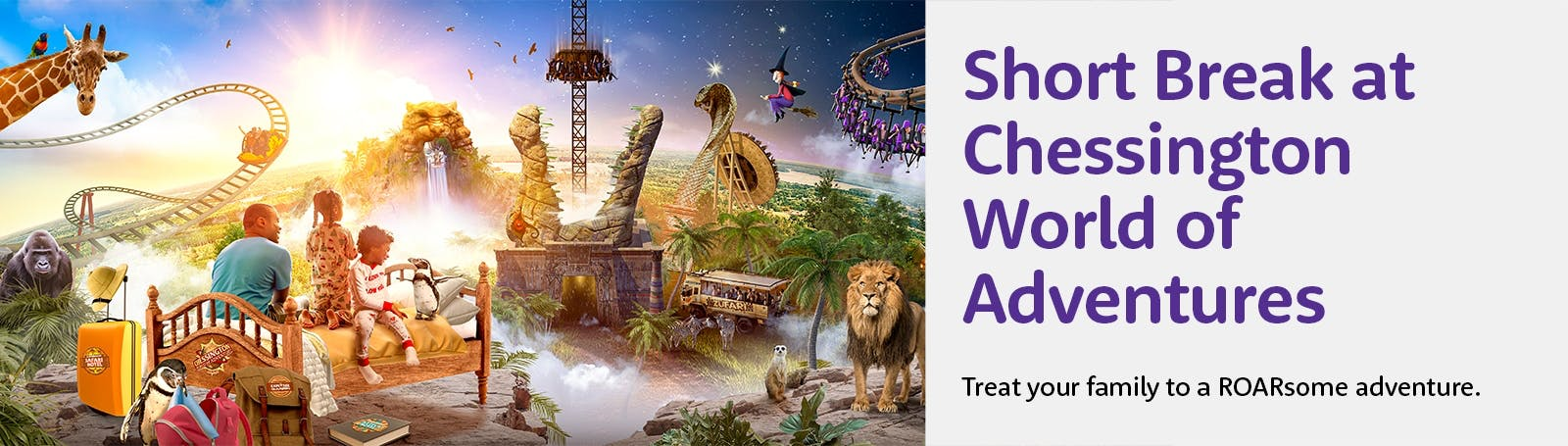 Chessington World of Adventures Resort with a Hotel