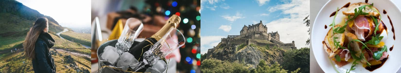Edinburgh City Collage of Photographs