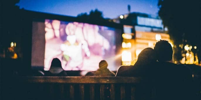 Outdoor Cinema Screening Days Out in London Deals