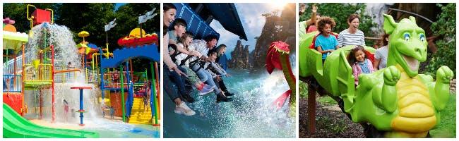 Collage of Photographs of Legoland