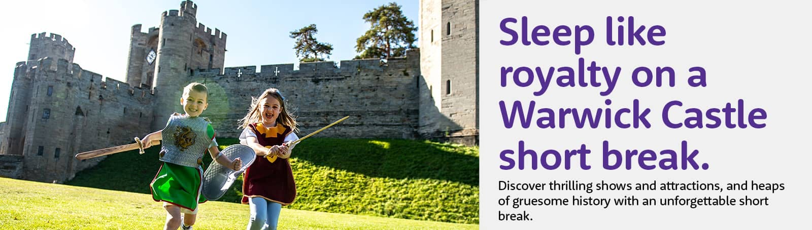 Warwick Castle with a Hotel