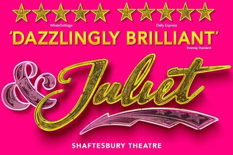 & Juliet Show Poster