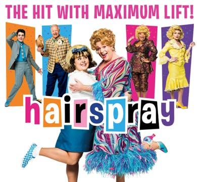 Hairspray the Musical Banner