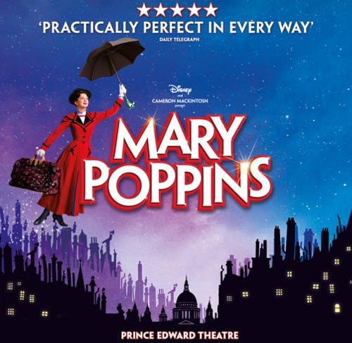 Mary Poppins Musical Banner