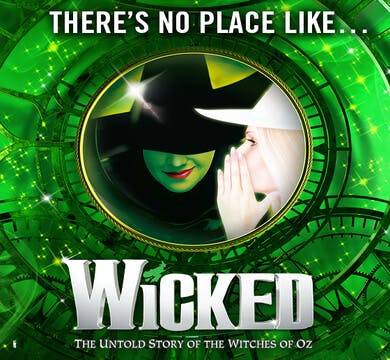 Wicked the Musical Banner