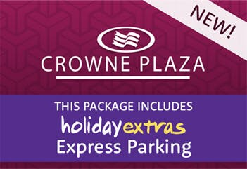 Gatwick Crowne Plaza Holiday Extras Express Parking