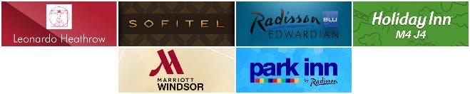 Heathrow Airport Hotels Logos