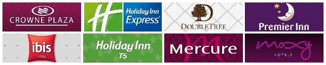 Heathrow Hotels Meet and Greet Logos