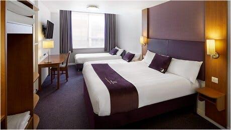 Premier Inn Heathrow Family Room