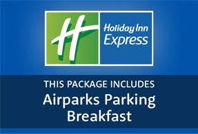 Holiday Inn Express with parking at Luton airport