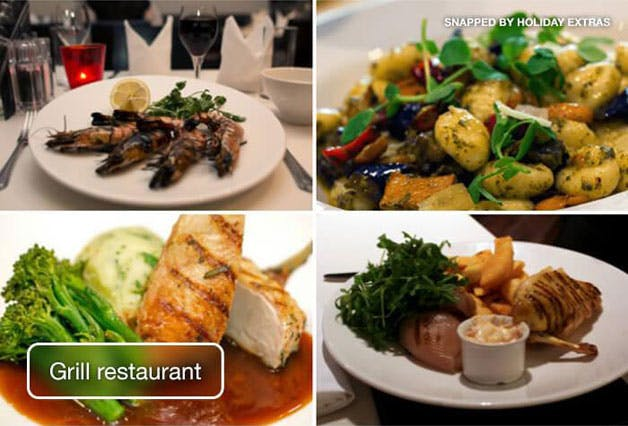 Manchester airport crowne plaza grill
