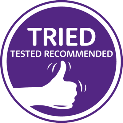 Tried Tested Recommended Badge