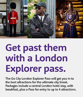 London City Pass with Hotel