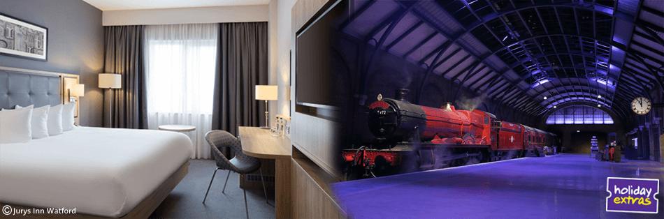 Hotel Near Harry Potter Studios London plus Tickets