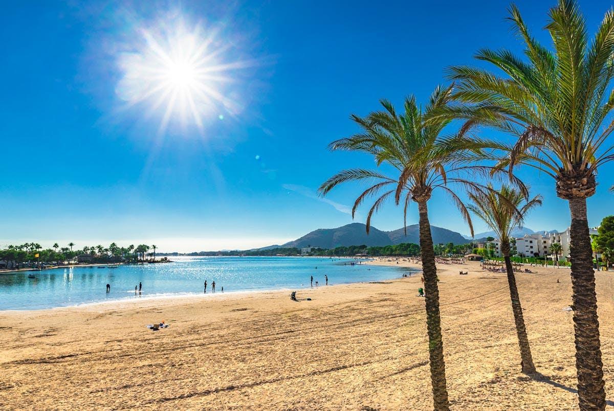 Mallorca Strand Bild
