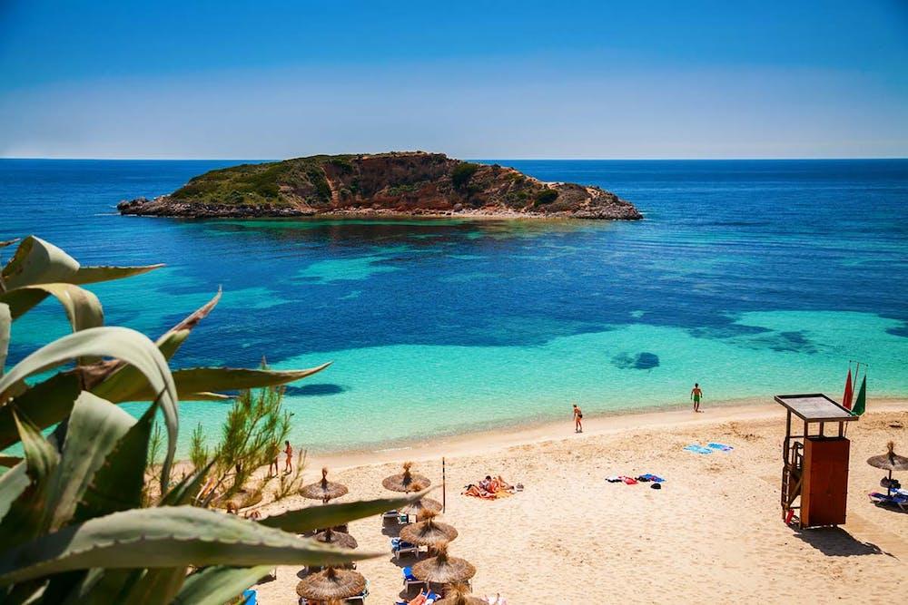 Mallorca Strand Bilder Playa Oratorio