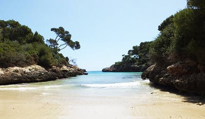 Cala Egos Mallorca Strand Bilder