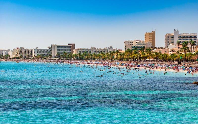 Cala Millor Strand touristisch