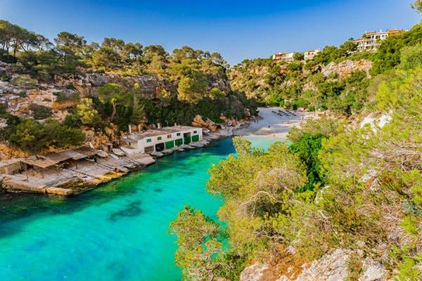Cala Pi Mallorca Strand Bilder