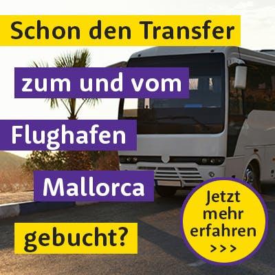 Transfer vom Flughafen Mallorca buchen