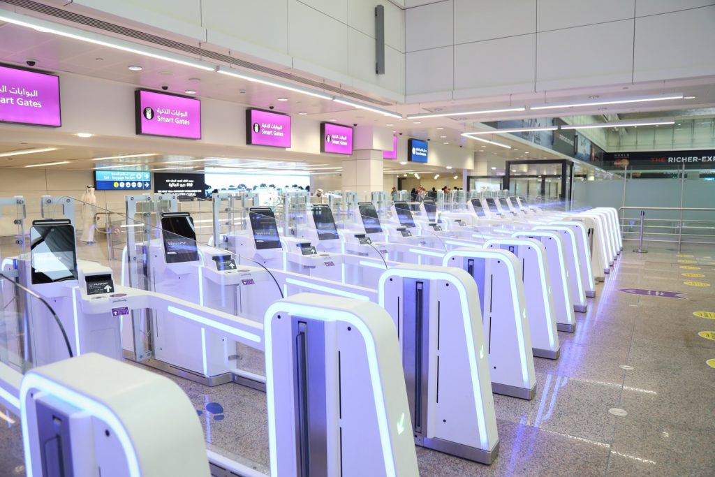airport smart gates