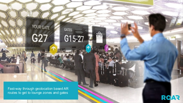 augmented reality platform for airports