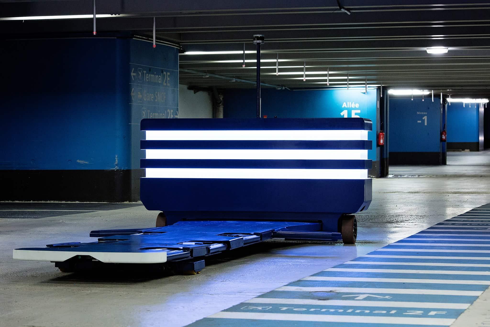 robotic valet parking