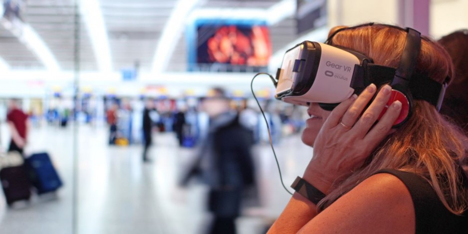 vr technology at airports