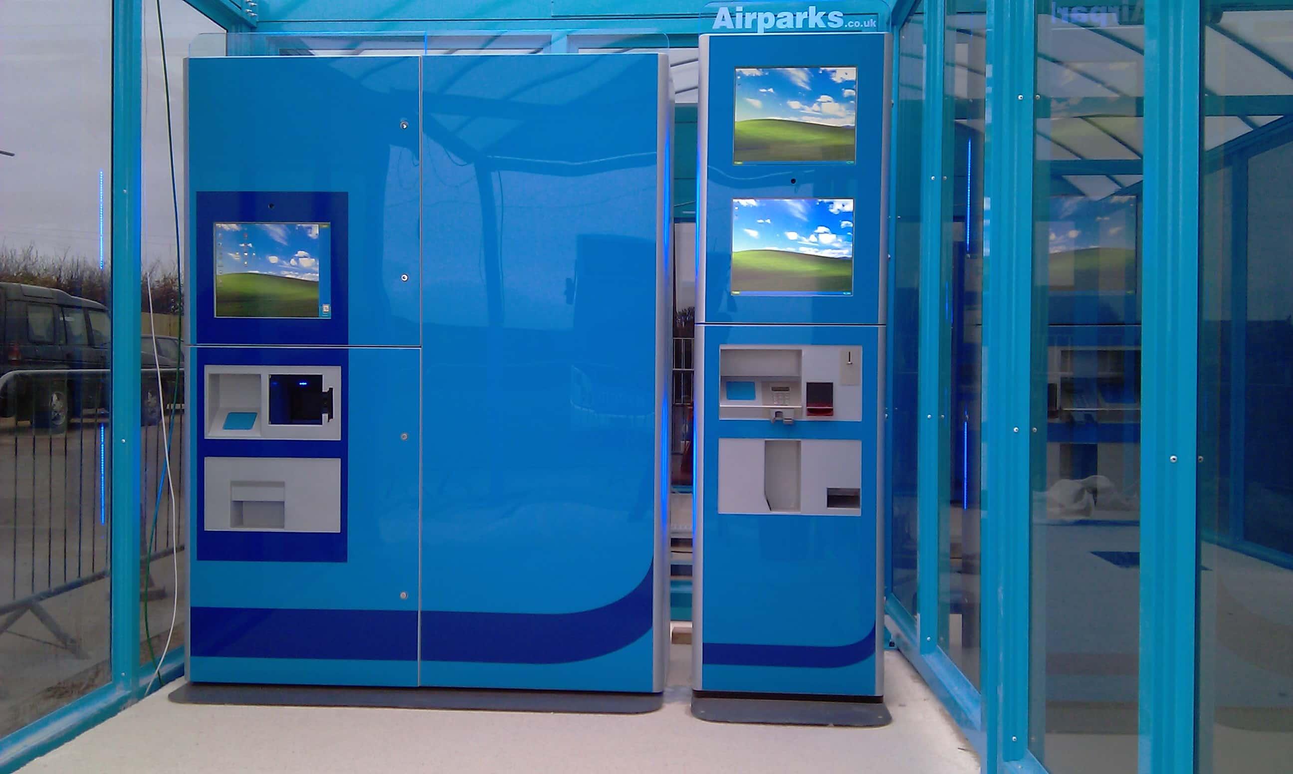 airport self kiosks