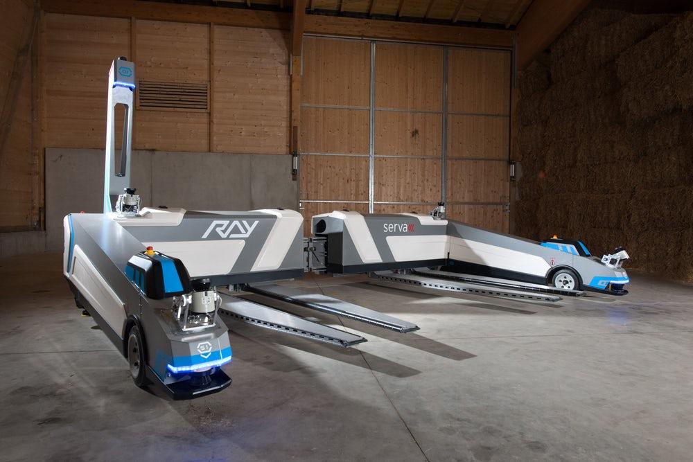 valet parking robots